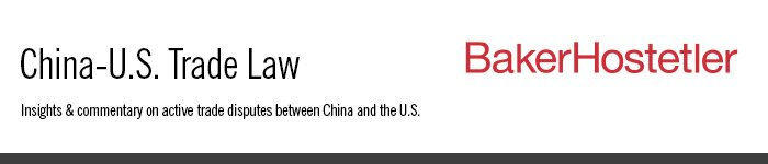 China-U.S. Trade Law